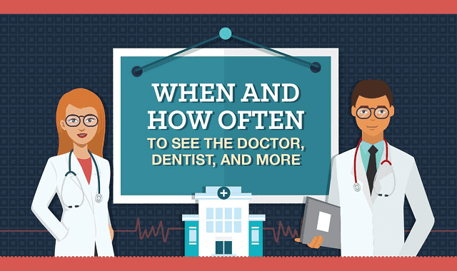 When and How Often to See the Doctor, Dentist, and More