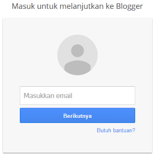 Buat blog di blogger