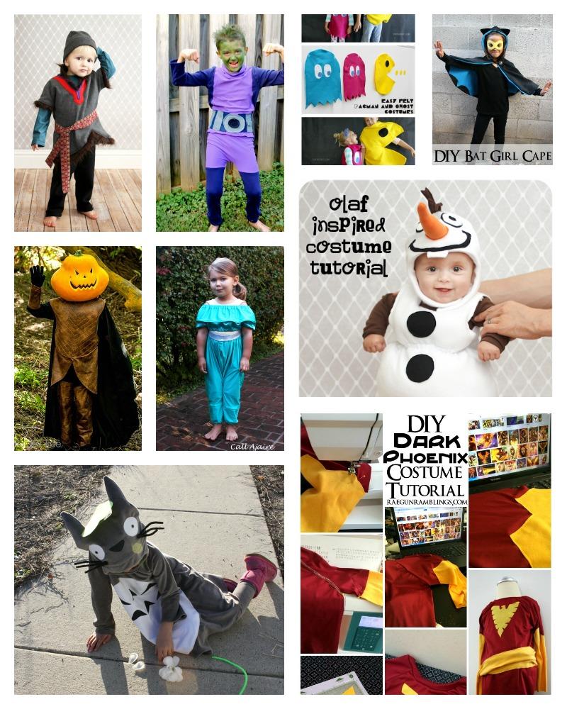 15+ DIY Halloween Costumes