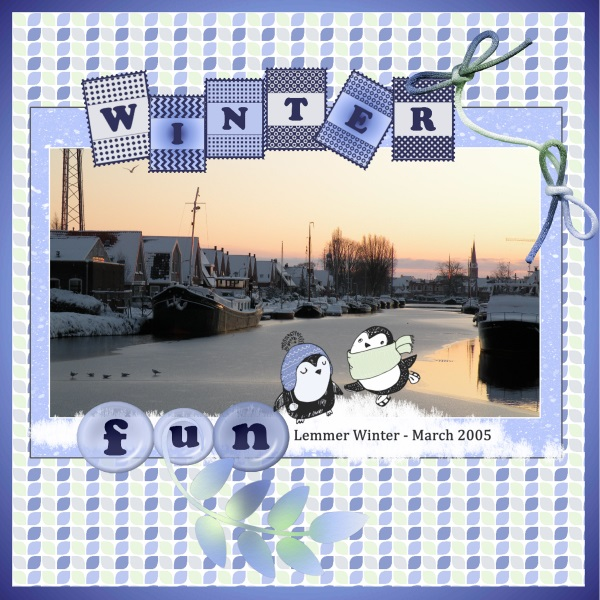 Jan.2018- Winter - 2005 in Lemmer