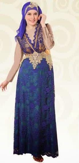 Foto Model Gaun Muslim Terbaru 2015