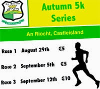 Fri 5th Sept...Castleisland 5k race