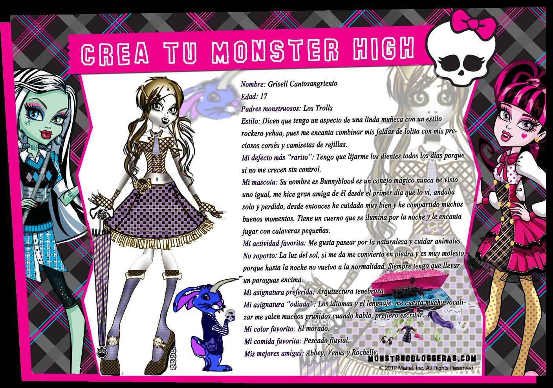 Monster high quede finalista en el concurso de mostruobloggeras yeahh - Casa de monster high ...