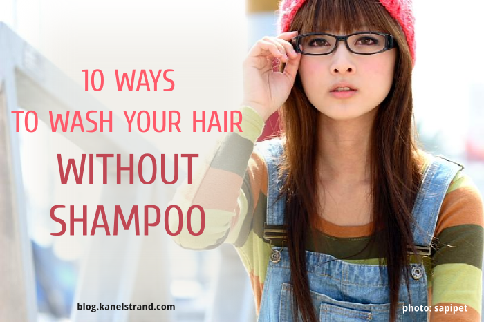 10 recipes for homemade shampoo