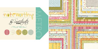 Moda NOTEWORTHY Quilt Fabric by Sweetwater for Moda Fabrics