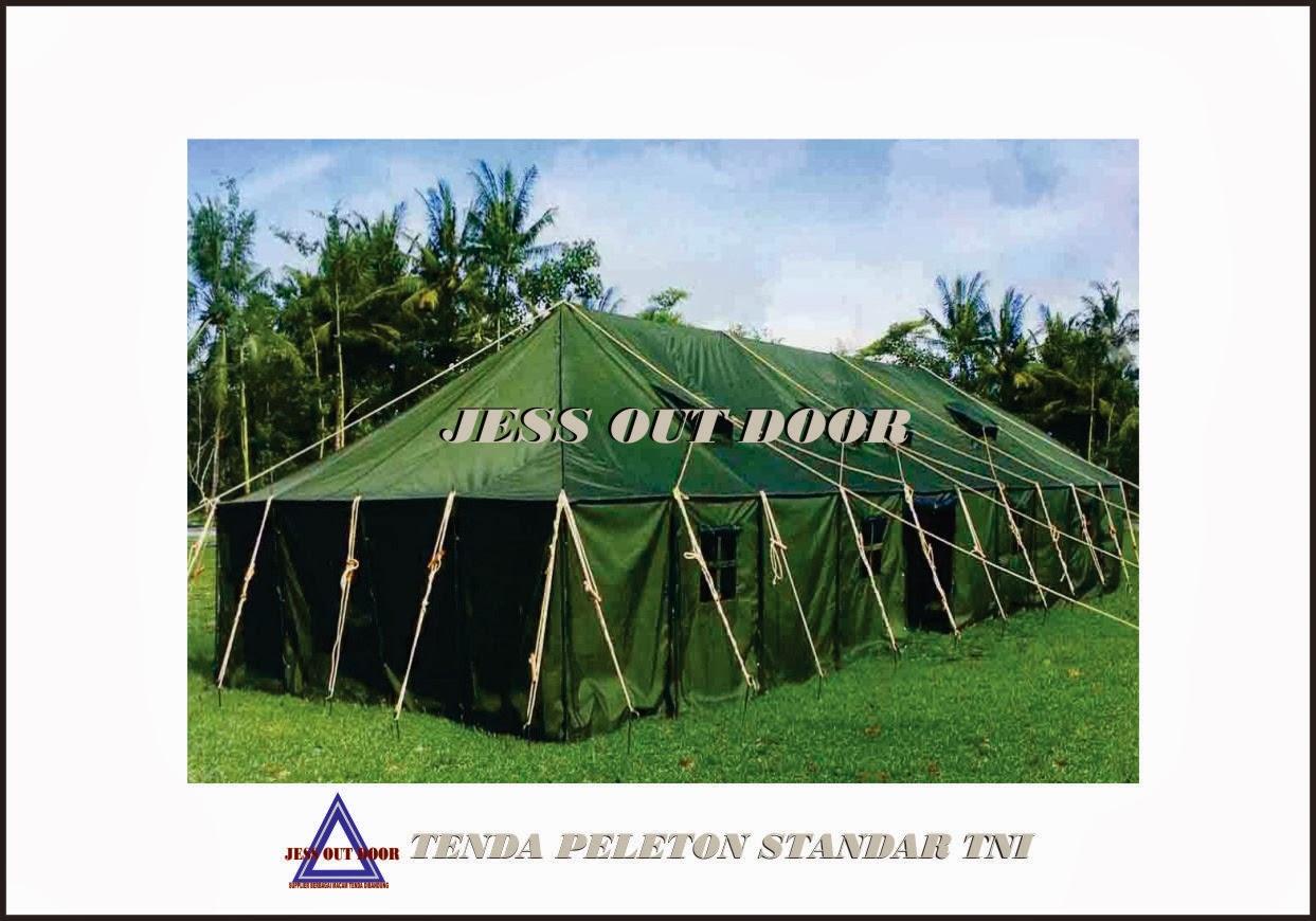 Pabrik, Tempat, Produksi, Tenda Pleton standar TNI