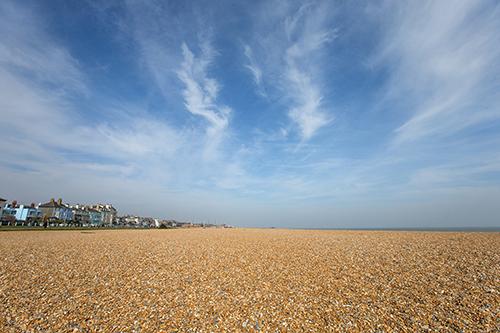 Walmer Beach, Kent.