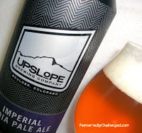 Upslope Imperial IPA up close