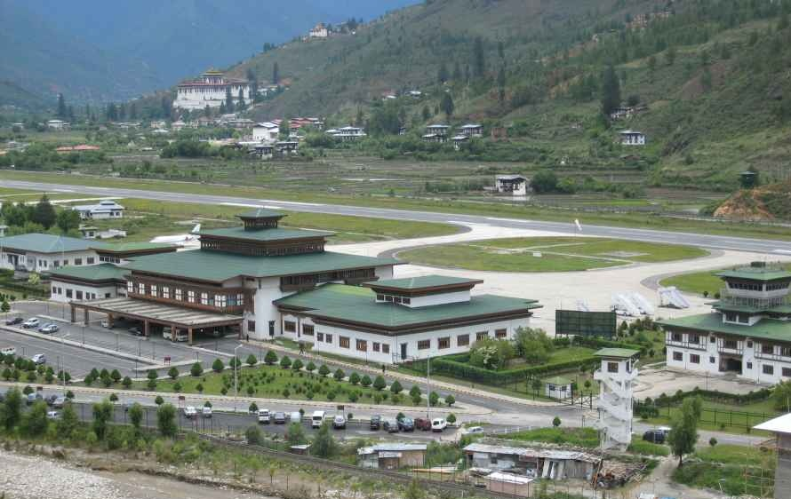 Paro Bhutan  city photos : Paro International Airport, Bhutan | Photobundle
