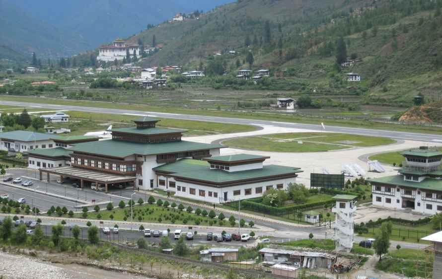 Paro Bhutan  city pictures gallery : Paro International Airport, Bhutan | Photobundle