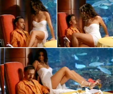 Katrina Kaif in Boom with Gulshan Grover hot Scenes