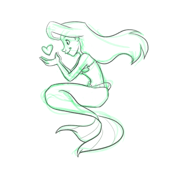 Disney Princess Ariel Drawings Easy - coloring.download