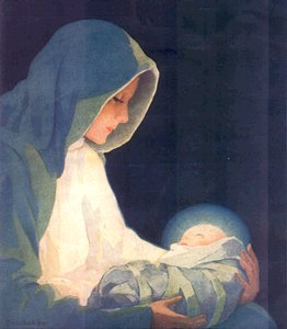 Mary's Boy Child Jesus Christ was born on Christmas Day Song Lyrics Picture