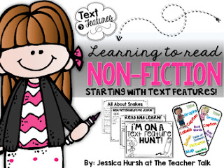 https://www.teacherspayteachers.com/Product/Nonfiction-Text-Features-733689