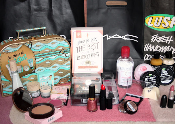 beauty haul sephora mac lush