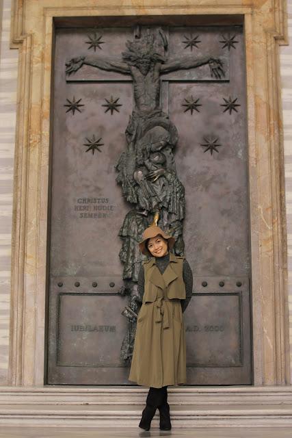 the Closet Catwalk, Holy Door, Europe, Rome Italy Honeymoon