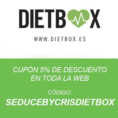 DIETBOX CÓDIGO DTO 5% SEDUCEBYCRISDIETBOX