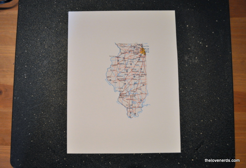 How to make State Art in a floating frame - The Love Nerds