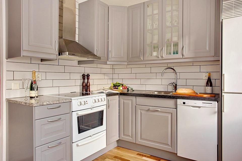 W domu Marty Szara kuchnia z IKEA III -> Siwa Kuchnia Ikea