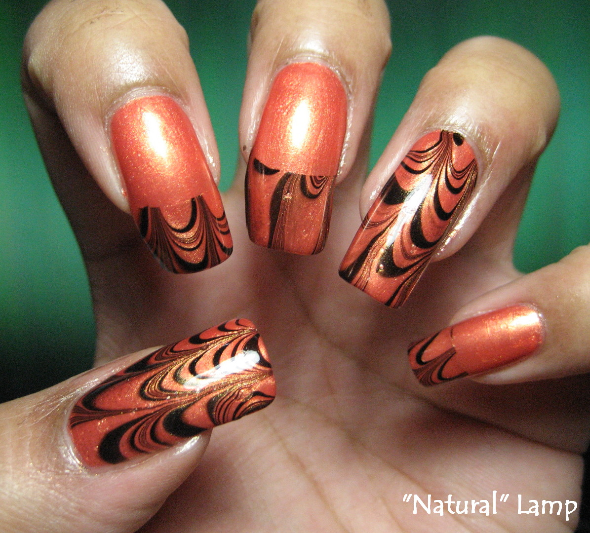 My Simple Little Pleasures: NOTD: Halloween Orange & Black French ...
