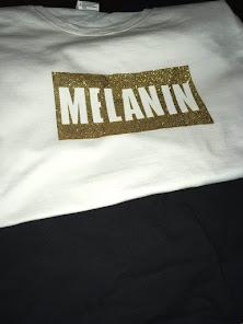 Melanin = Gold tee