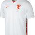 Nike divulga nova camisa reserva da seleção de Holanda