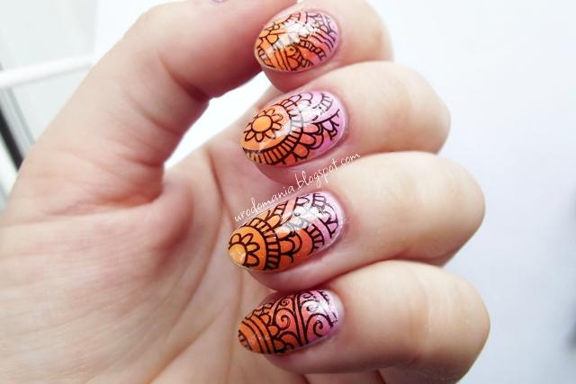 wakacyjne paznokcie z bps fairytale nails and beauty