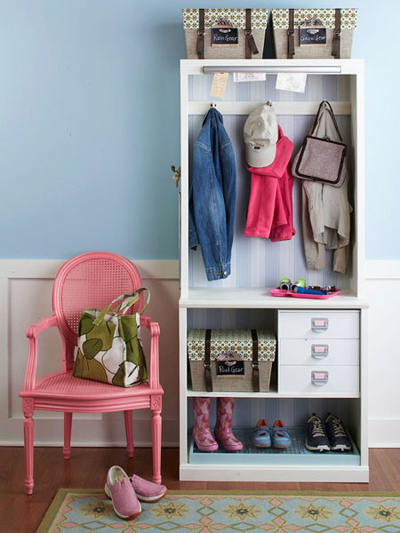 DIY Entryway Organization