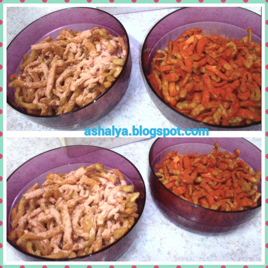 Asha Lya Resepi Kerepek Gunting Homemade Perisa Cheese Dan