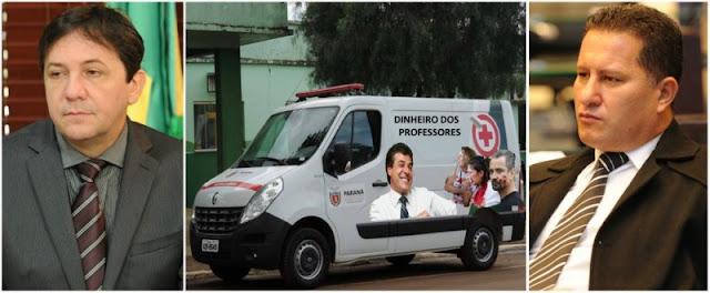 MENSALÂNCIA MISTURA DE MENSALÃO COM AMBULÂNCIA GOVERNADOR BETO RICHA FOI ACUSADO POR BANCADA INDEPENDENTE
