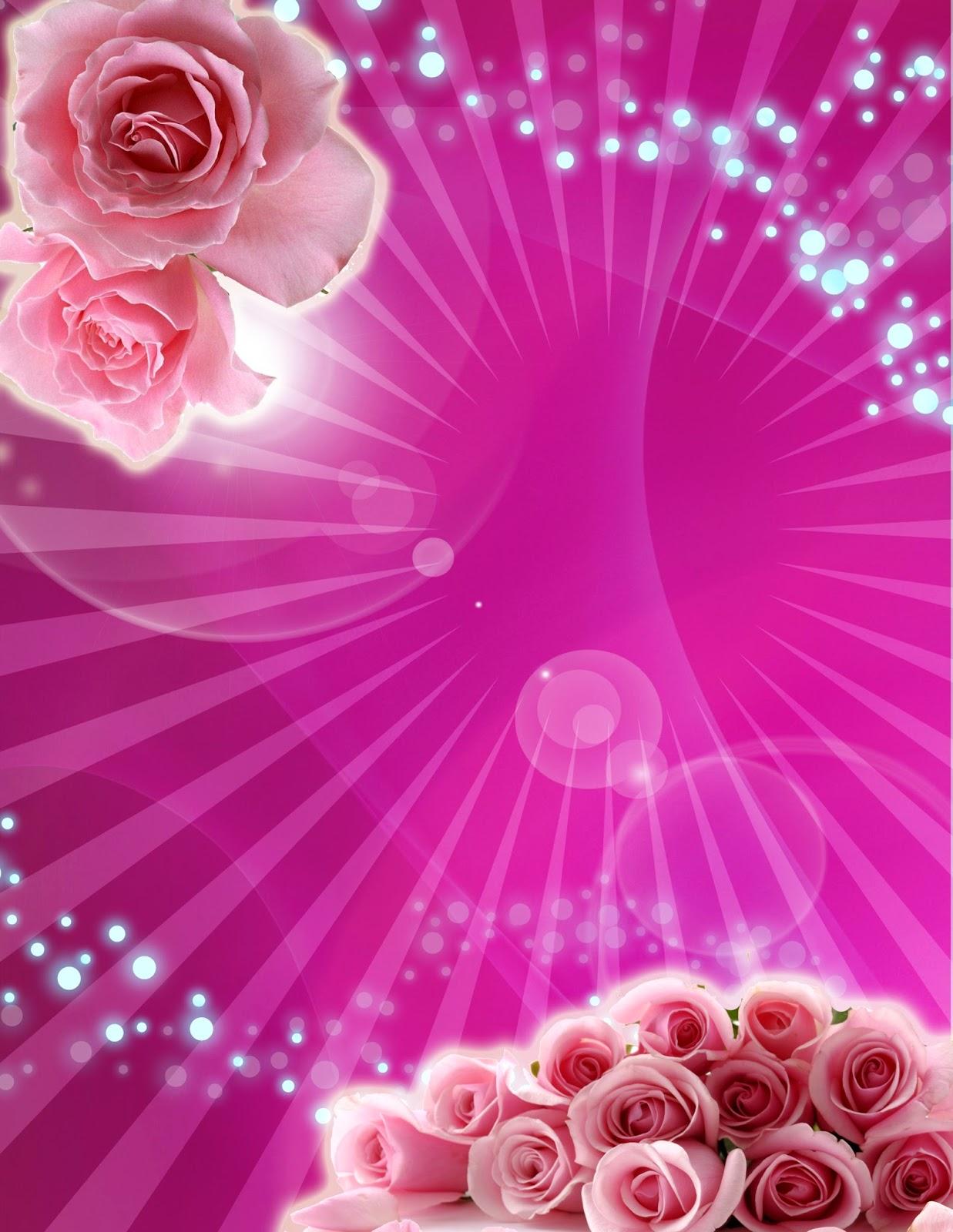 tarjeta de invitaci n de 15 a os fucsia con rosas rosa gratis artes davinci ideas con estilo. Black Bedroom Furniture Sets. Home Design Ideas