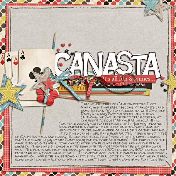 canasta rules for 4 players