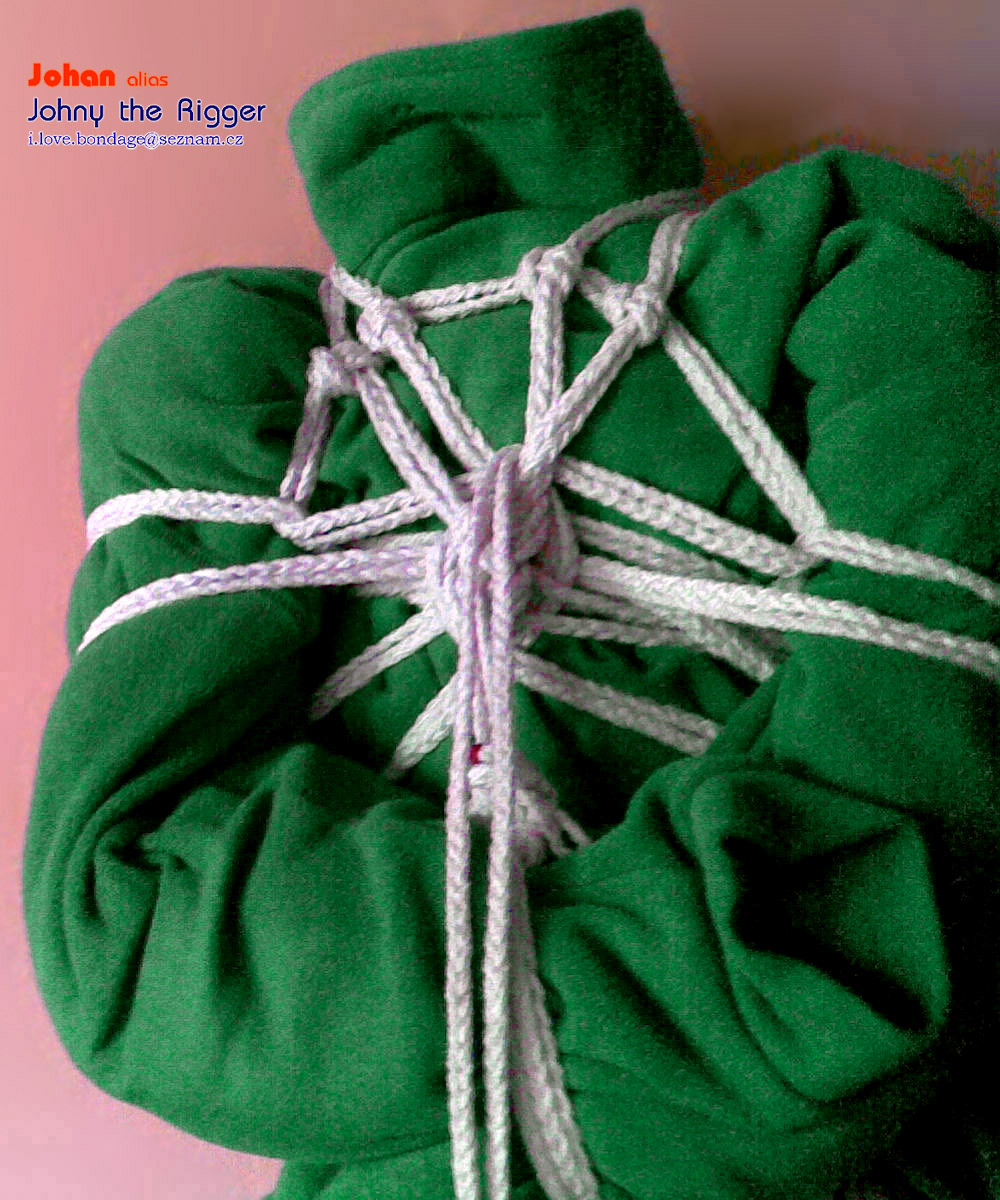 Rope Rebirth http://my-knots.blogspot.com/2011/05/water-caltrop-v-3-simplest-variant.html