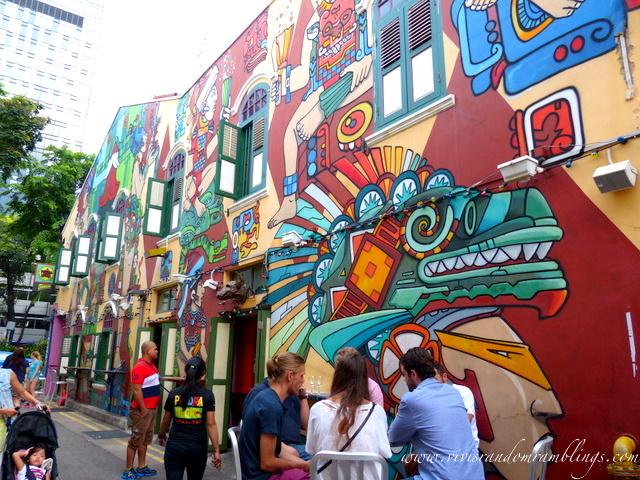 Street Art, Haji Lane Singapore