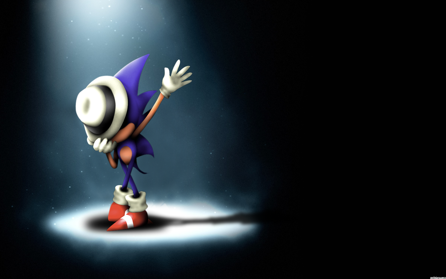 wallpaper sonic blue - photo #2