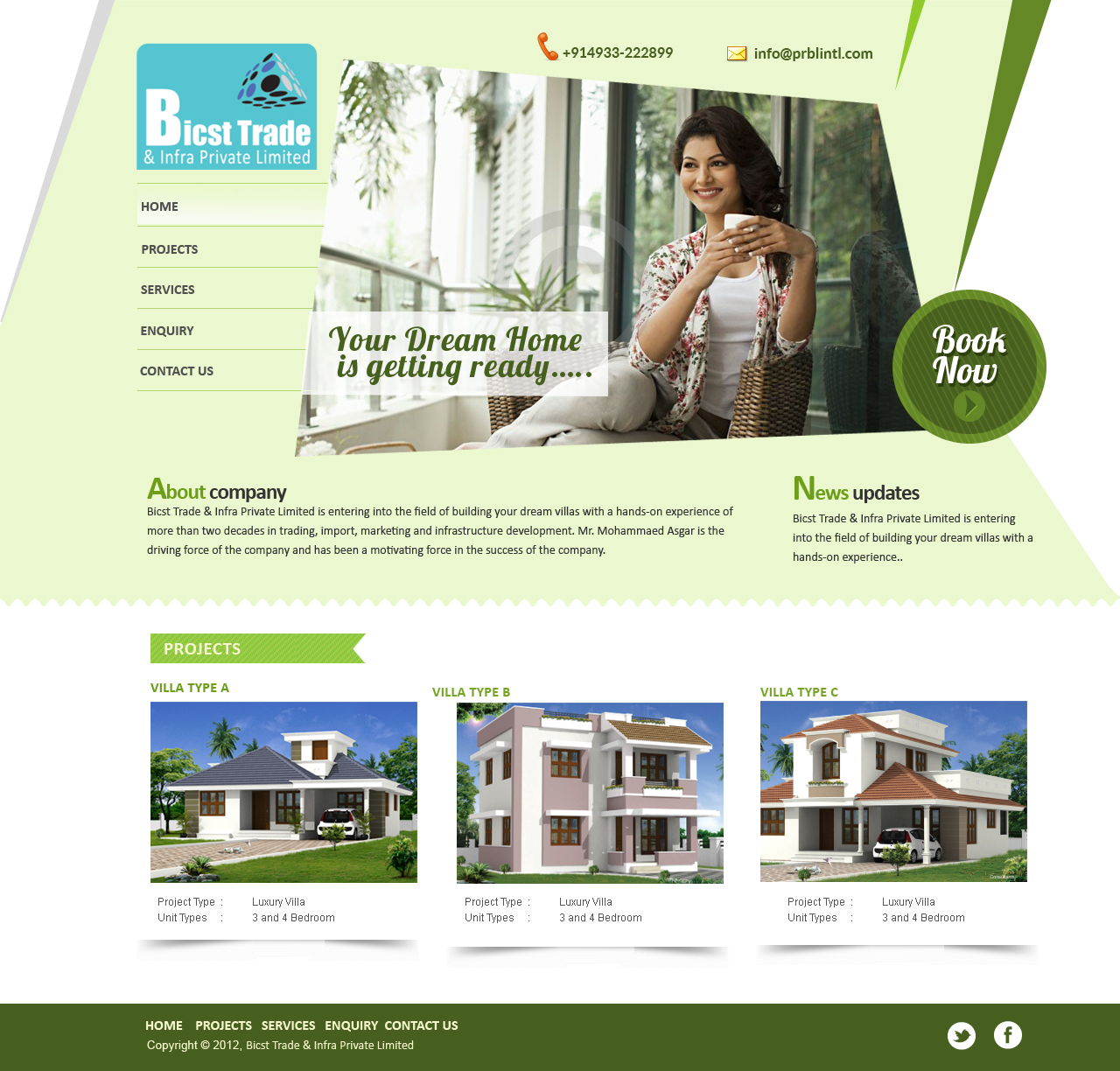 Web Designer Kerala | Web Designer Cochin : Builder website design