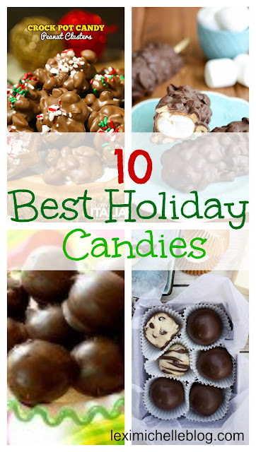 our new christmas tradition is to make Christmas candy- these are the best, easy candy recipes for Christmas, Valentines, Anniversaries, etc
