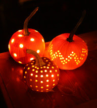 Modern Vintage Events Pumpkin Lanterns