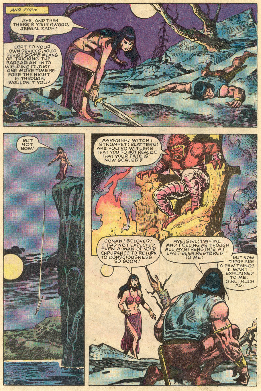 Conan the Barbarian (1970) Issue #152 #164 - English 21