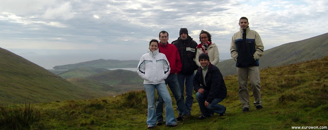 Grupo de vasco-gallegos en Dingle