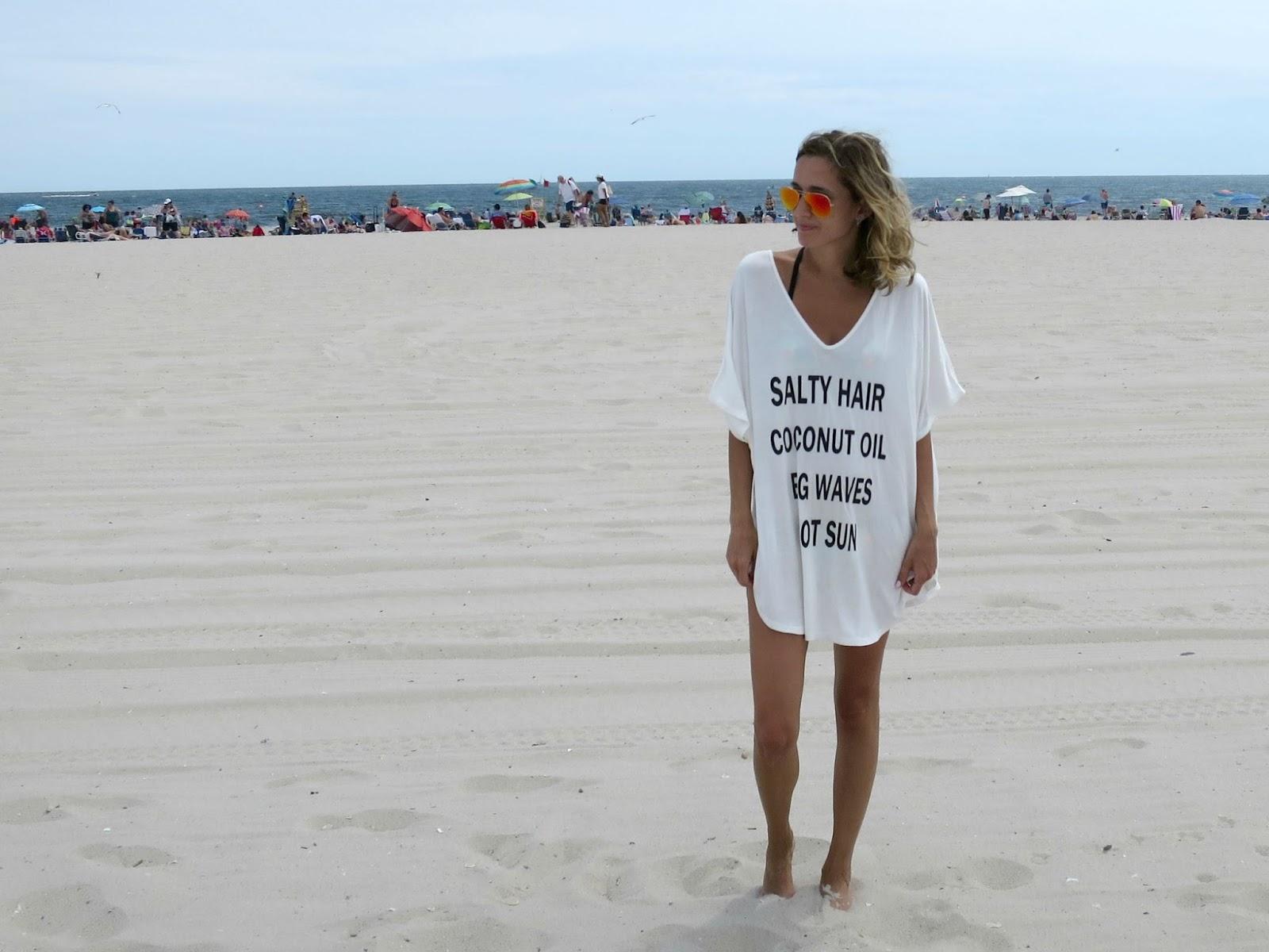 dresslink oversize beach top