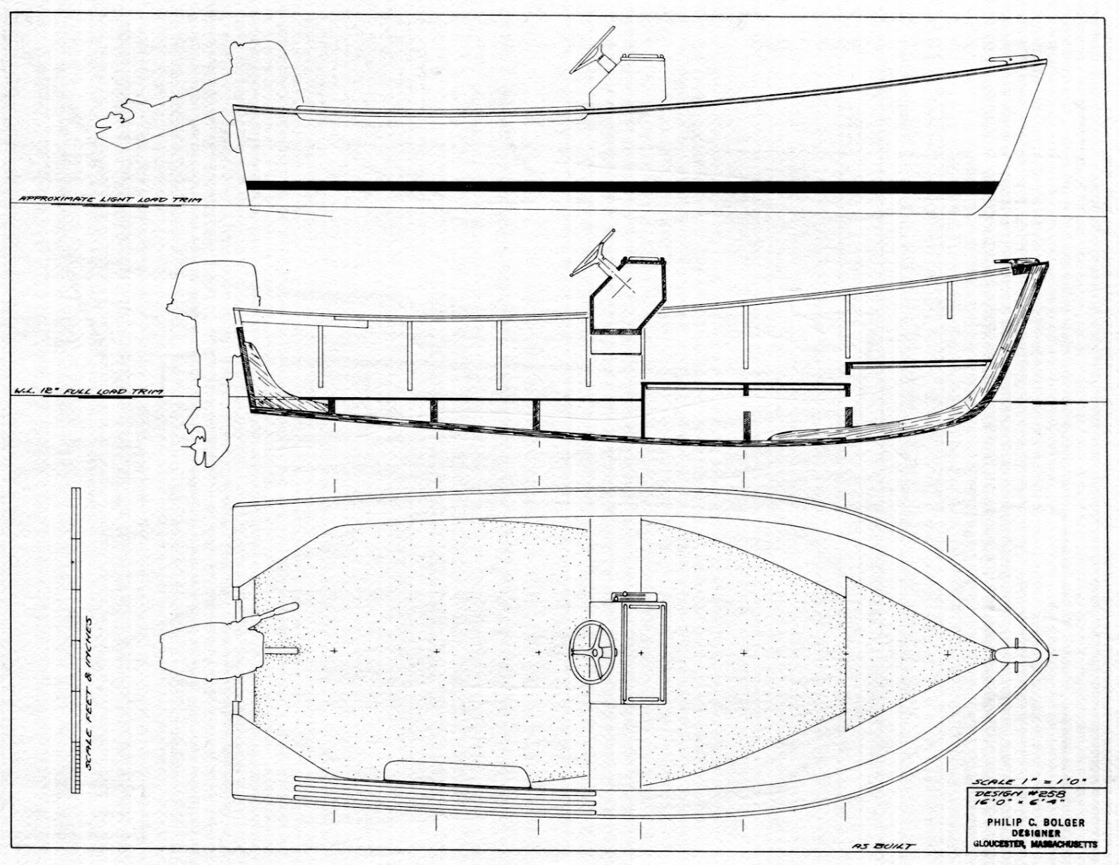 Ross Lillistone Wooden Boats: Hope - a Phil Bolger-designed Lobsterboat