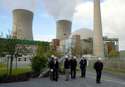 NuclearPower  Plant at Grafenrheinfeld