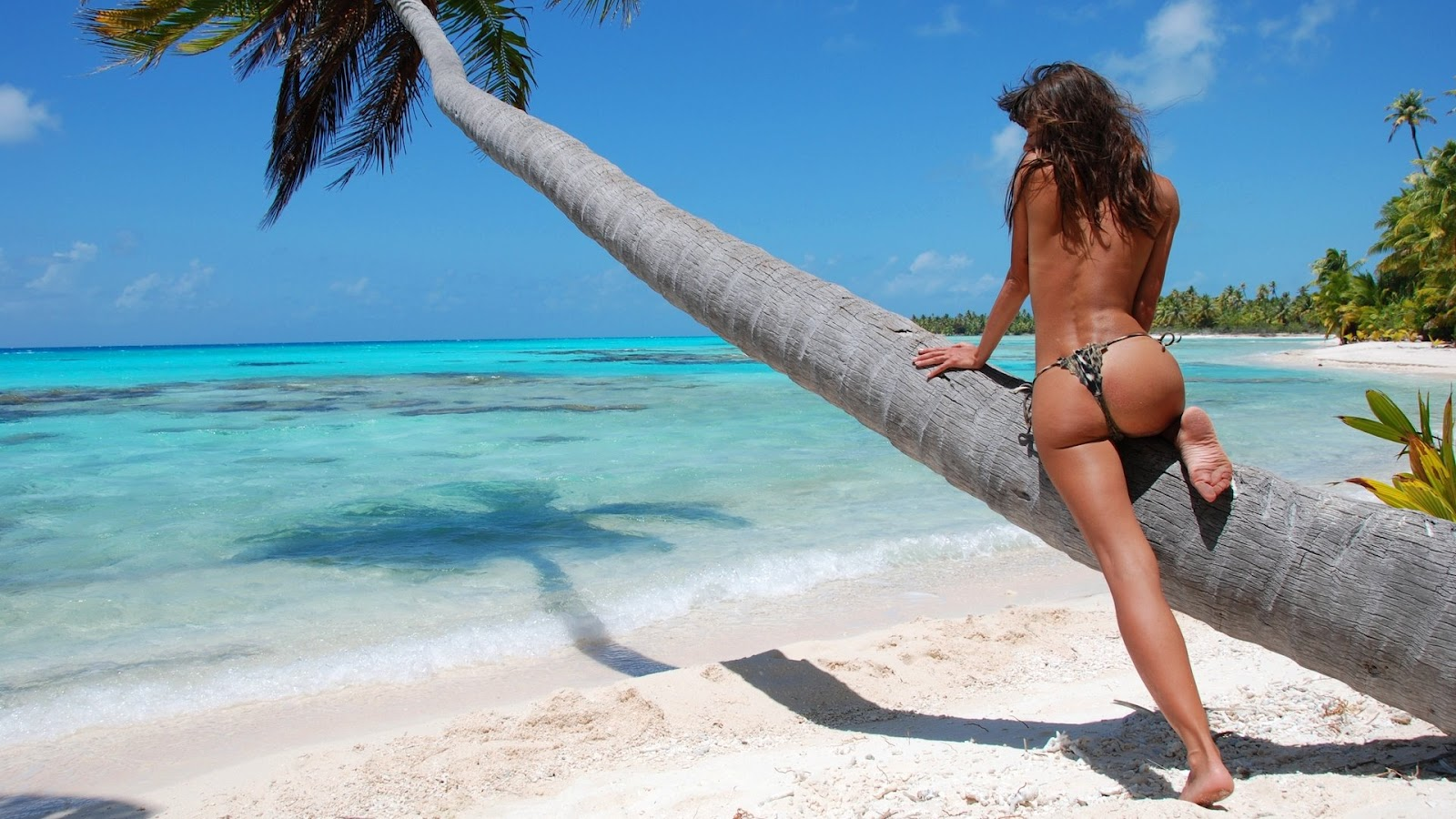 Girl Most Beautiful Beaches In The World