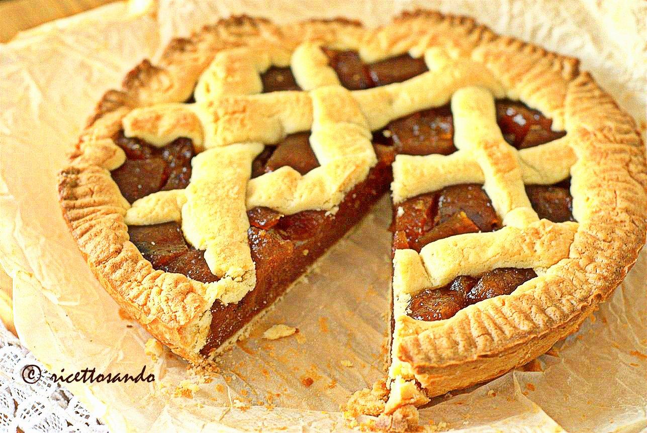Crostata di mele cotogne ricetta di torta dolce cotta a forno