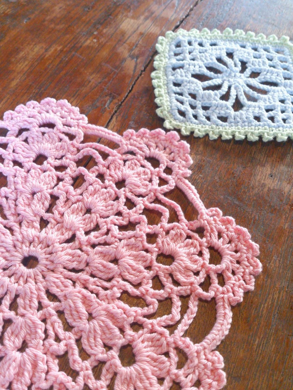 ByHaafner, Japanese crochet, doilies