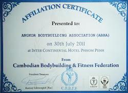 Affiliation Certificate