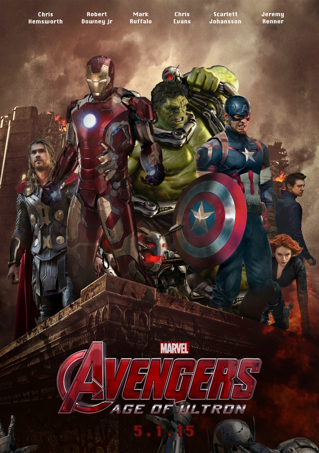 Download Film Avengers: Age Of Ultron (2015)