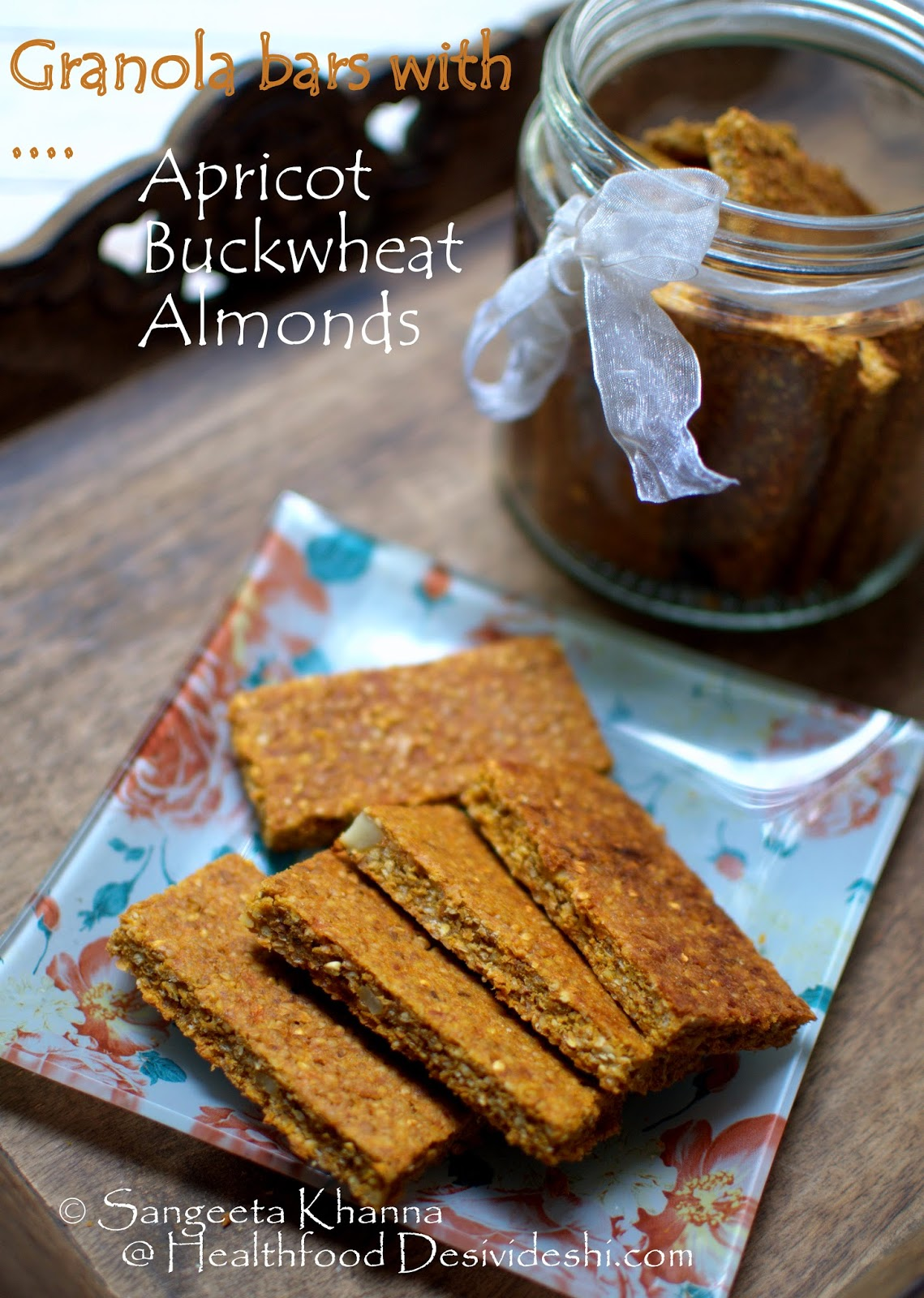 baking with buckwheat : a buckwheat groats granola bar and a buckwheat flour and dates cookie | no added sugar