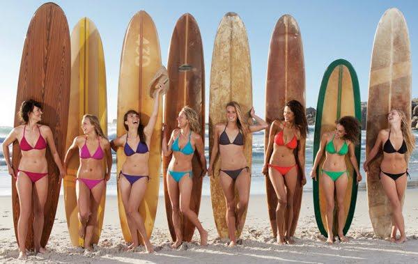 bikinis básicos Decathlon